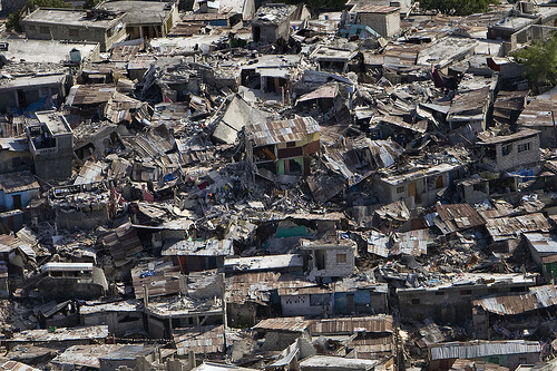 Haiti Earthquake Devastation