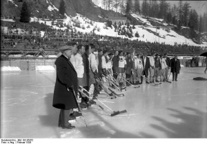 February 1928 at the Winter Olympics in St. Moritz, Switzerland,