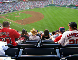 Nationals Park Bleachers