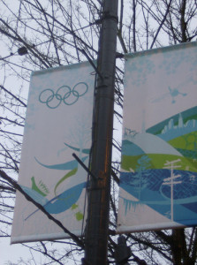 2010 Winter Olympics Banners