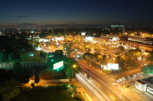 Vista desde el Sheraton en Asunción, Paraguay