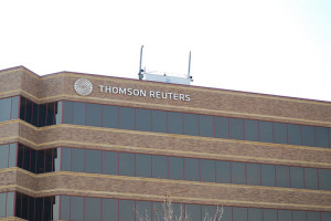 Thomson Reuters Sign