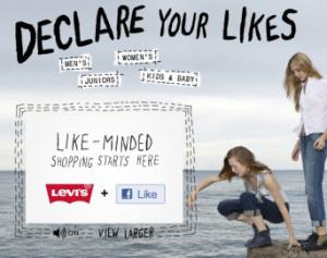 Levis.com Home Page