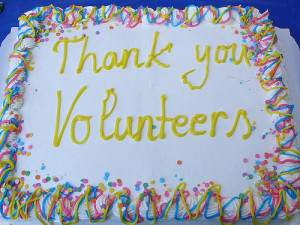 Cake for Volunteers