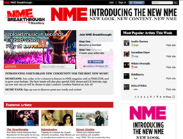 NME Breakthrough Screen Capture