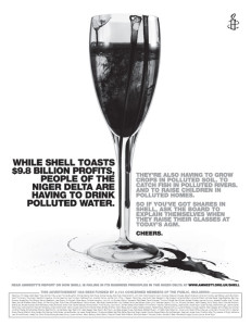 Amnesty International Print Ad Against Shell