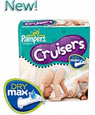 Pampers Cruisers with Dry Max