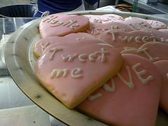 Tweet Me Cookies