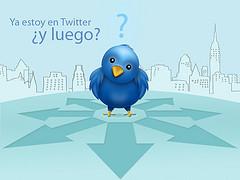 Yo estoy en twitter