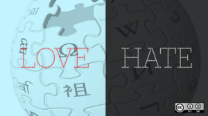 Love-Hate-Wikipedia