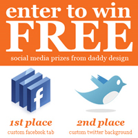 Daddy Design Social Media Giveaway Contest