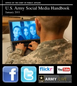Army Social Media Handbook 2011 Cover