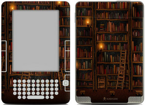 Kindle Library Skin