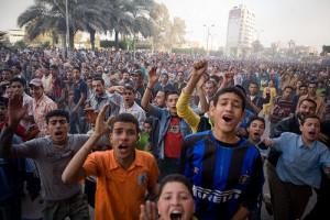 Mahalla Egypt Riot