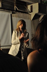 Arianna Huffington at Garagegeeks