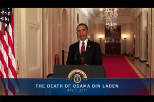 President Obama Announces Osama bin Laden's Death