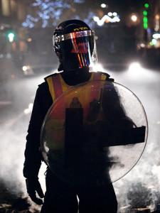 London Riot Police