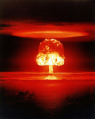 """""""Castle Romeo"""" atmospheric nuclear test - March 1954"""