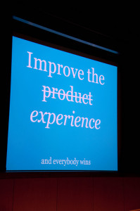 Improve the experience