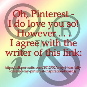 Oh, Pinterest