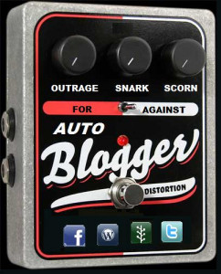 auto blogger floor pedal