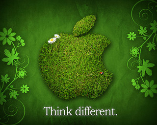 think apple