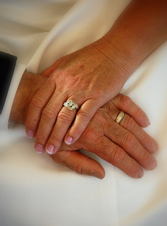 wedded hands