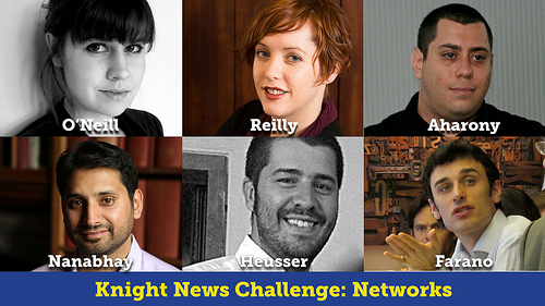 Knight News Challenge 2012 Networks Winners