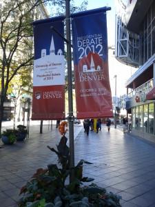2012 Presidential Debate -- Denver