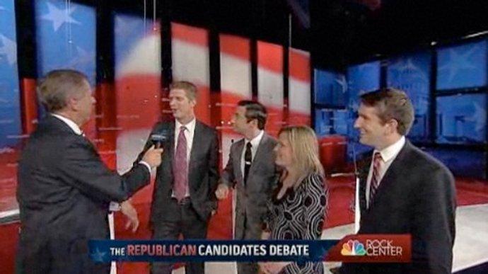 eRepublican candidates debate