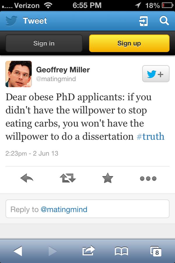 Geoffrey Miller of UNM, NYU