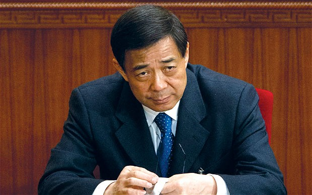 Former Chinese Minister Bo Xilai. (Photo credit: Telegraph.co.uk.)