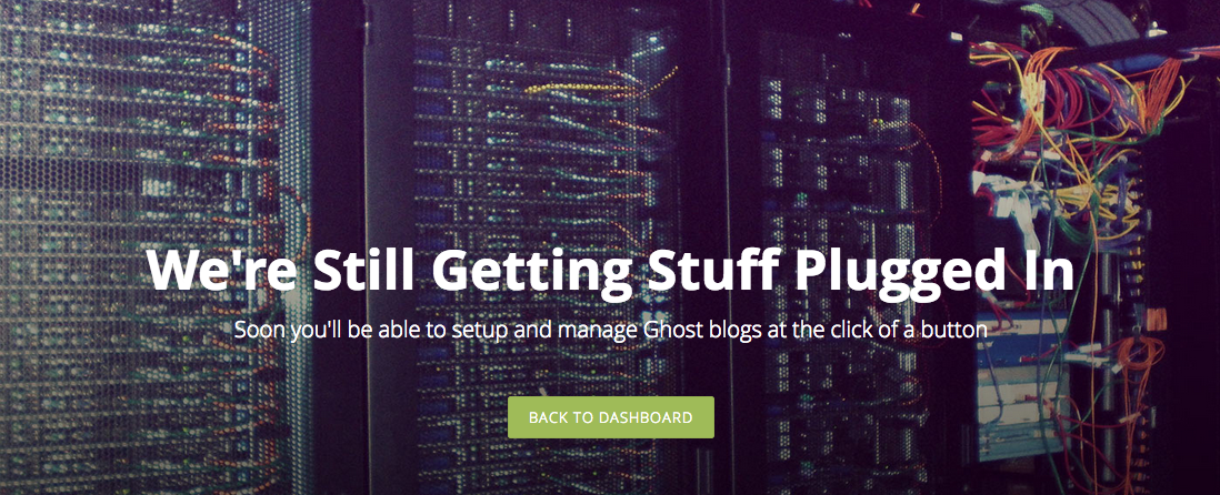 Ghost Blogging Launches