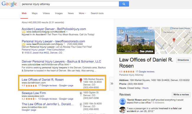 Local Seo for Attorneys